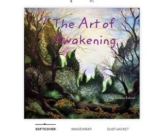 Art Book,Art of Awakening,Self Help Book,Spiritual Book,Awakening book,Paintings book,coffee table book,art book,spiritual enlightenment