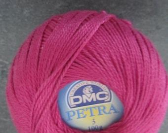 1 reel Pincushion cotton DMC - model Petra fuchsia pink - 100 g
