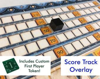 Azul SCORE TRACK Player Board Overlay