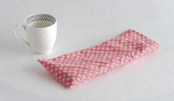 bouillotte s che garnie de riz d houssable tissu coton. Black Bedroom Furniture Sets. Home Design Ideas