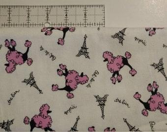 Swaddle Blanket - Custom Pink Poodles