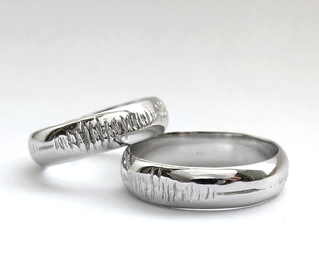 nerd women engagement for wedding rings bands