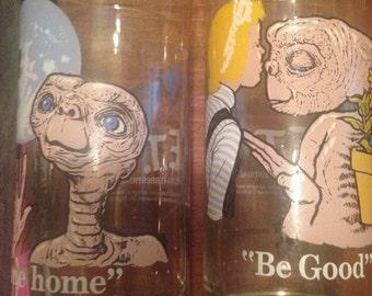 ET movie glassware collection