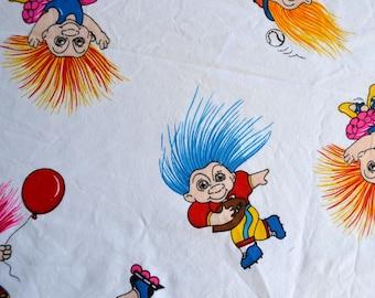 Vintage Fabric - Marcus Brothers California Trolls - 44 x 33