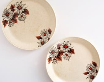 Daisy Side Plates - Vintage