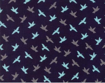 INSTOCK Creekside Soar Midnight 37534 16 by Sherri and Chelsi from Moda -1 yard