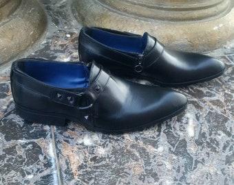 Chivalry handmade harness shoes