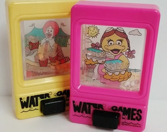 Toys- McDonald Water Games, Set of 2