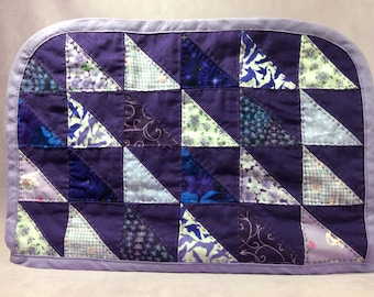 Purple Hand Quilted Toaster Cover