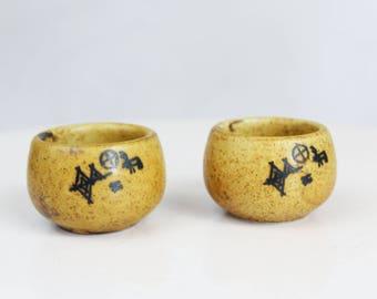 Pentik Finland egg cups