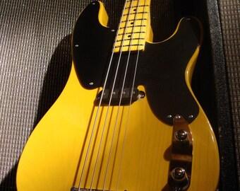 Custom Electric Bass Guitar