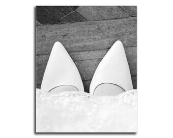 Wedding Digital Print, Black and White, Wedding Shoes, Printable Wall Art, Wedding Dress, Wall Decor, Digital Download, Love Wall Art Print