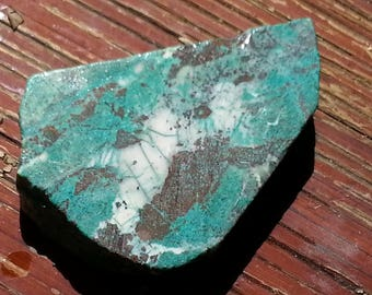 57.4 Grams Chrysocolla Slab