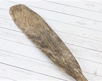 Vintage Wooden Oar Boat Oar Rowing Oar Vintage Wooden Paddle Wood Oar Nautical Wall Decor Beach Decor Lake Decor Old Boat Oar Paddle