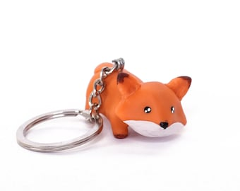 Kawaii Fox Keychain