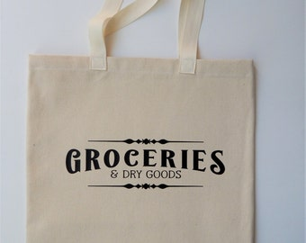 Farmers Market Tote Bag Shopping Tote Grocery Tote Farmhouse Everyday Tote Duck Canvas Tote Bag