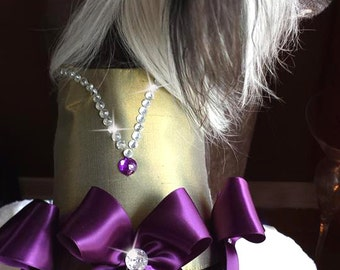 Royal Gem Couture Dog Harness Dress