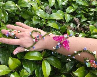 Butterfly Garden Cuff