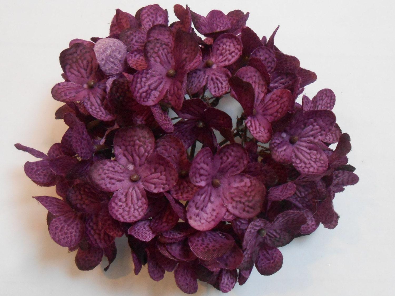 Purple hydrangeas silk hydrangea crafting flowers artificial 350 shipping mightylinksfo