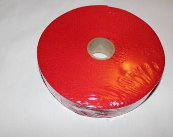 Strap shoulder 100% cotton red 30mm