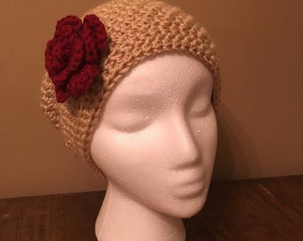 Red Rose slouch hat
