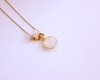 Last piece! 10% necklace Mae fine gold plated