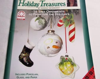One Stroke, Holiday Treasures , by Donna Dewberry, Decorative Painting 9784, FAST-n-FREE US Shipping, BC3