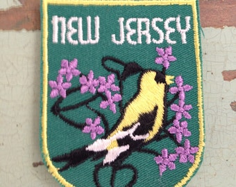 New Jersey Travel Patch by Voyager
