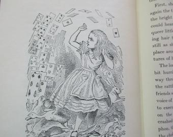 vintage Alice's Adventures in WONDERLAND -Lewis Carroll, John Tenniel,  Random House