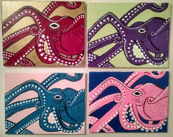 Octopi Painting