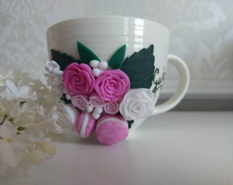 Cup Modelling mass flower gift