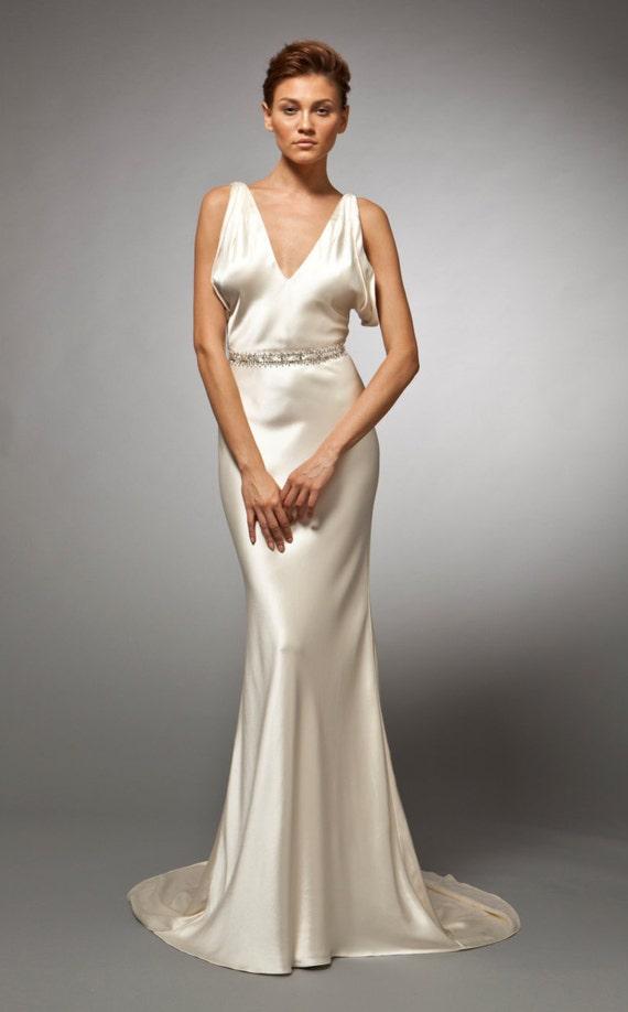 Vestido de boda de la década de 1930 década de 1930 vestido