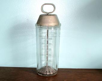 Glass Vintage Malted Milk Mixer - SALE