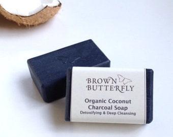 Organic Coconut Charcoal Soap