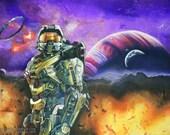 Halo Master Chief ART PRI...
