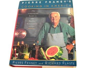 Pierre Franey's Cooking in America, Vintage Cookbook