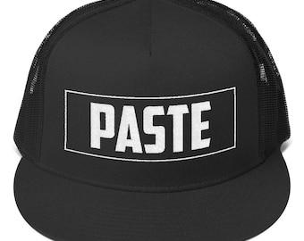 Cap. Copy-Paste Snapback Hat. Trucker Hat. Cape