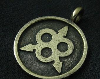 Bronze Nurgle pendant
