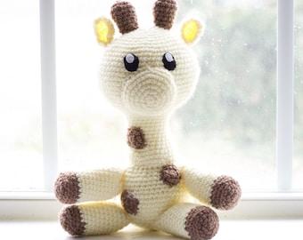 Giraffe Plush - Giraffe Plushie- Giraffe Nursery - Giraffe Baby Shower - Giraffe Gifts - Giraffe Stuffed Animal - Giraffe Plush Toy