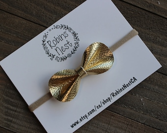 Gold CLAIRE Bow