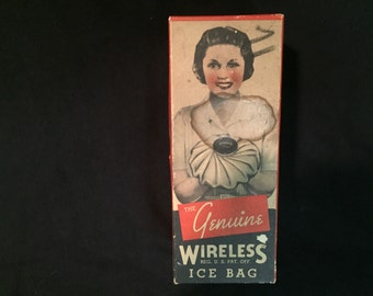 Vintage the genuine wireless ice bag