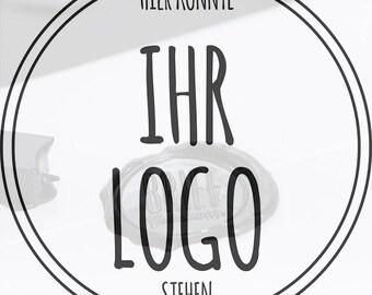 Siegelstempel 25mm Durchmesser mit eigenem Logo