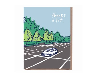 Thanks a Lot Card