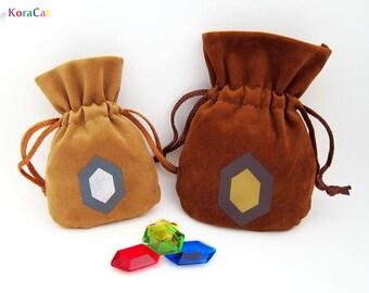 Zelda Rupee Bags - Adult Wallet / Giant Wallet