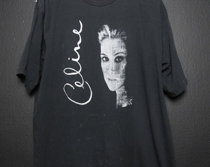 Celine Dion 1990's Vintage Tshirt