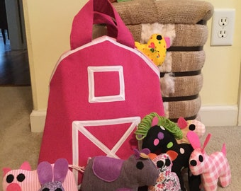Pink Barn Carrier