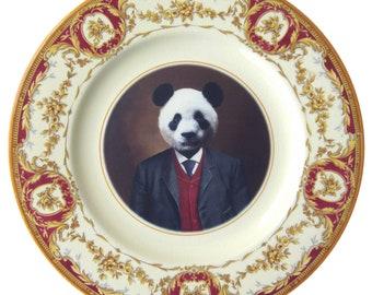 """Parker l'assiette Panda prospère 8,15"""""""