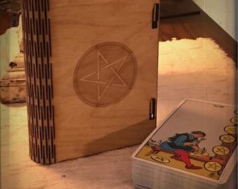 Tarot Card Box - Standard size 3x5x1