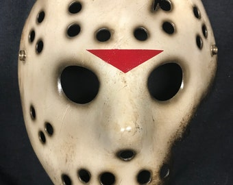 7 - Jason Voorhees Friday the 13th Custom Mask from Movie # 7 Part 7 Replica The New Blood