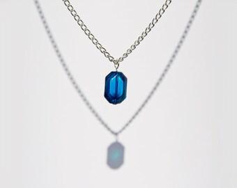 Zelda Glass Rupee Necklace